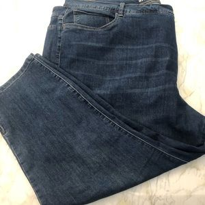 Avenue plus size denim ankle jeans